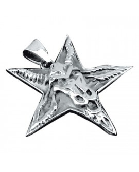 Ciondolo Pentagramma con cinque punte