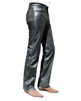 Pantalone pelle nappa uomo cinque tasche