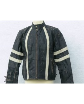 Leather Jacket 1776 rub buff