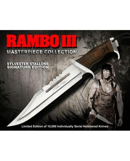 Coltello Rambo III Silvester Stallone Limited Edition