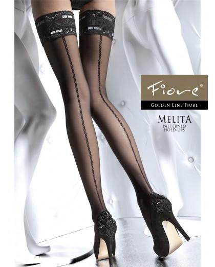 Calze autoreggenti MELITA 20 Den by Fiore