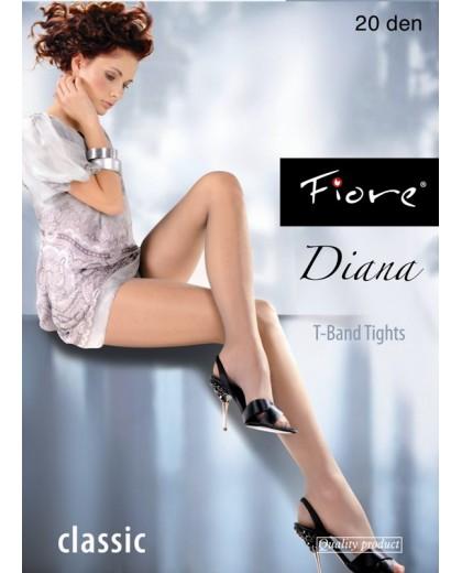 Diana, collant 20 den Fiore Calze