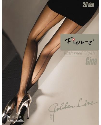 Gina, collant riga posteriore by Fiore Calze