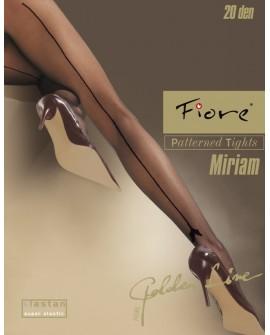Miriam, collant riga posteriore - Fiore Calze