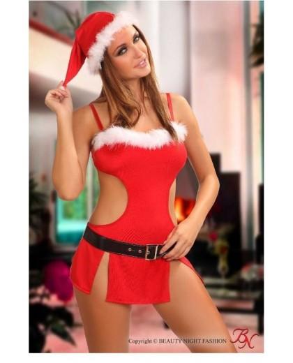 Santa Girl costume sexy By Beauty Night Fashion