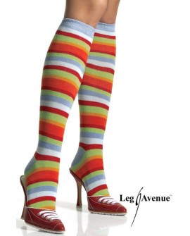Calzini A Righe Colorate by Leg Avenue