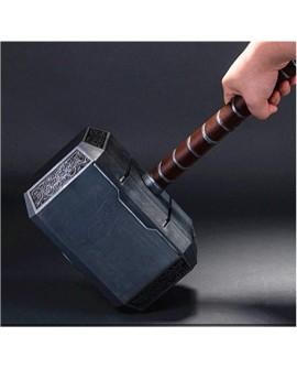 Riproduzione Martello di Thor in acciaio con supporto