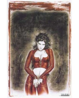 PROHIBITED poster LUIS ROYO