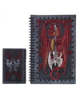 Notebook Drago con Ascia