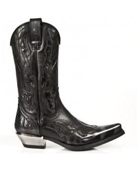Stivale rock cowboy modello M.7921-S3