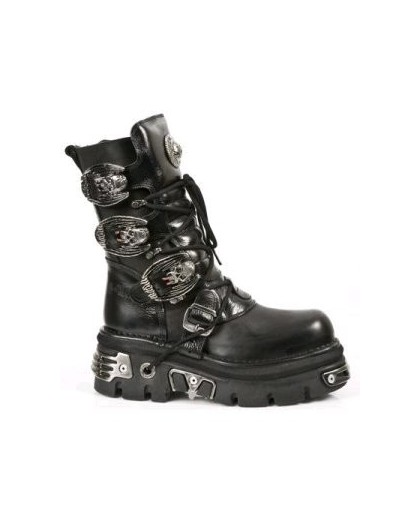 New Rock Vampire Buckle Boots