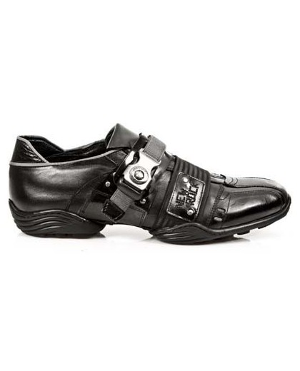 New Rock ABS Buckle Shoes