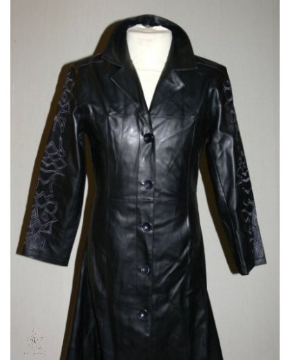 ladies tribal coat Leather